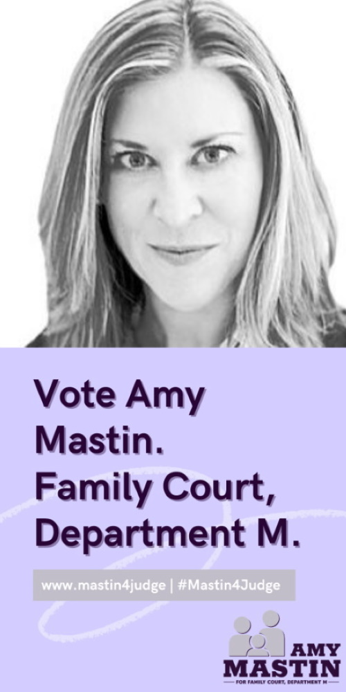Amy Mastin for Family Court Department M ad.