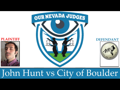 John Bridgford Hunt vs the City of Boulder Thumbnail